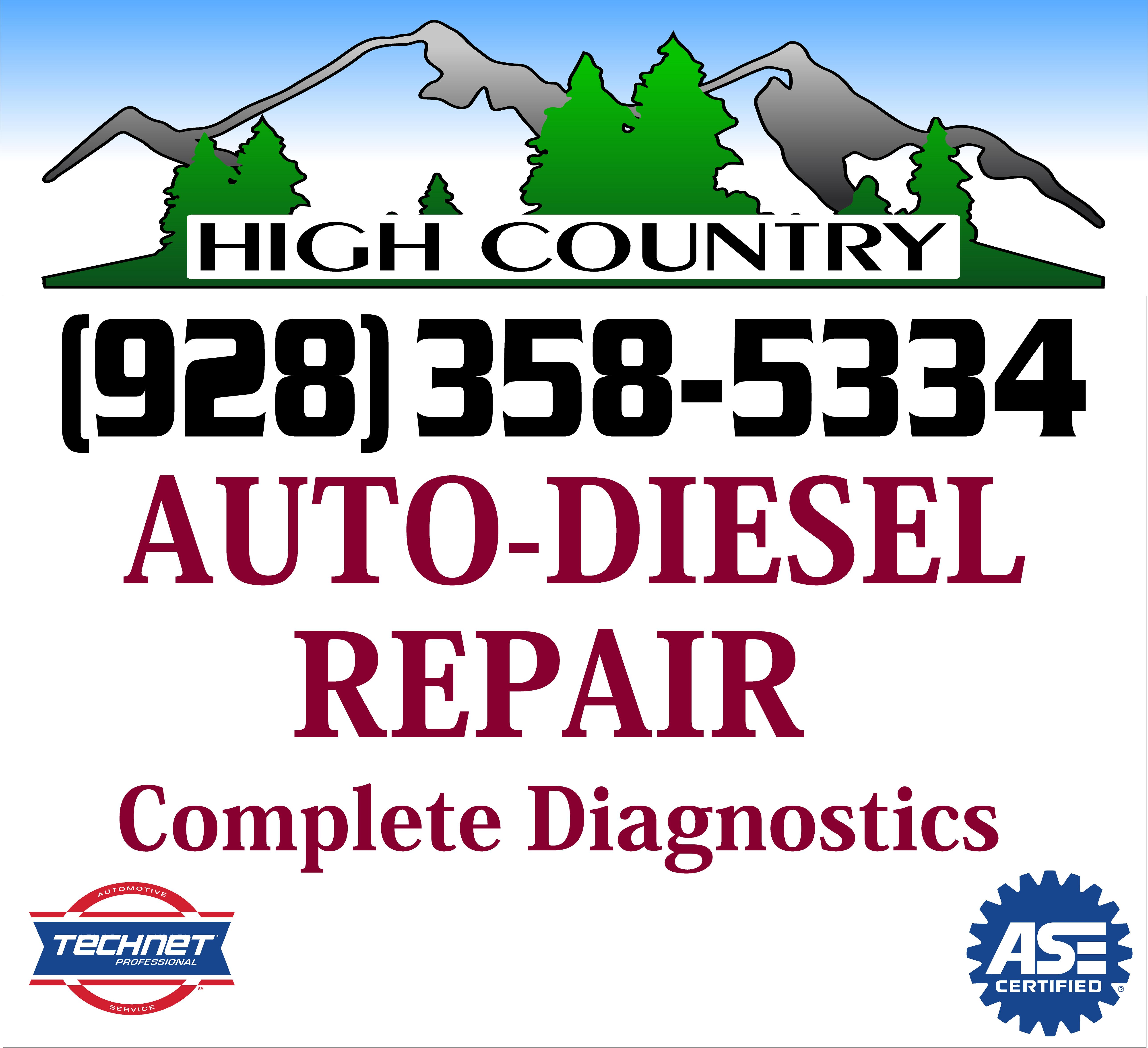 High Country Auto-Diesel Repair logo